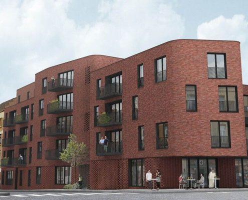 Futurs logements rue Van Droogenbroeck